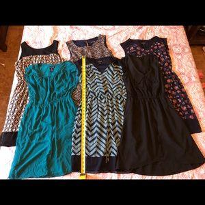 Bundle of 6 Dresses